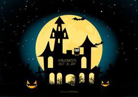 illustration de halloween effrayant