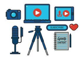 Video Set Vector Créateur