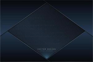 panneaux bleu marine foncé métallisés avec diamant en fibre de carbone vecteur
