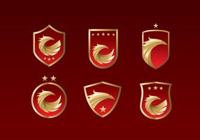 Buzzard Emblem vecteur libre