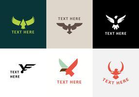 Buzzards Emblem Logo Vecteurs vecteur
