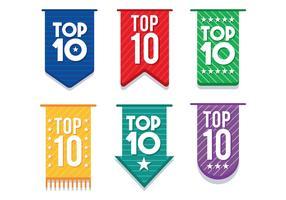 Top 10 set de vecteur