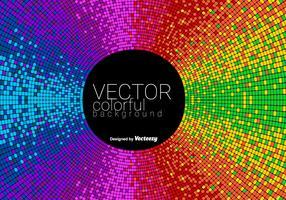 Vecteur abstrait coloré en mosaïque