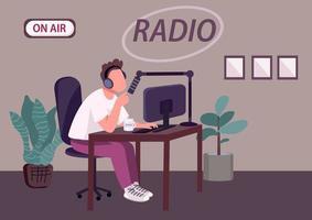 émission de podcast radio