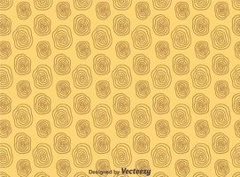Cercle de motif Woodgrain vecteur