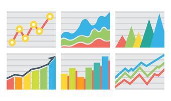 Icônes vectorielles de revenu