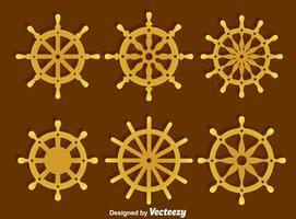 Navires Collection de roue Vector