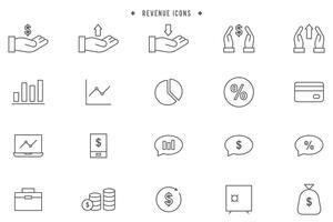 Vecteurs de revenus gratuits vecteur