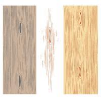 Vecteurs de grains de bois vecteur