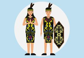 Couple Dayak