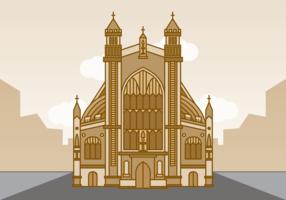 Vecteur d'abbaye