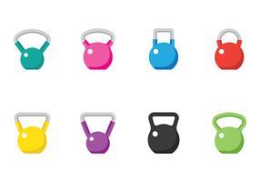 Types de kettle kettle vecteur