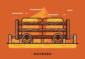 Vecteur de Hayride gratuit