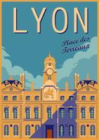 Mairie de Lyon vecteur