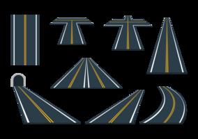 Vecteurs routiers vecteur