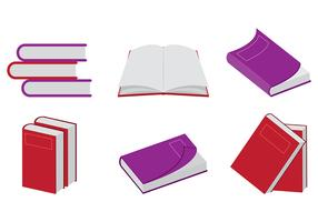 Vecteurs de Libro rouge vecteur