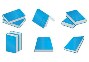 Vecteurs de Libro bleu vecteur
