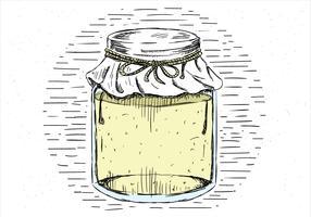 Pot de vecteur gratuit dessinés à la main