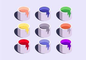 Vecteurs d'échantillons de couleur vecteur