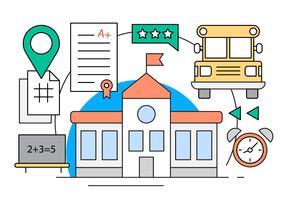 Icônes de l'école gratuit