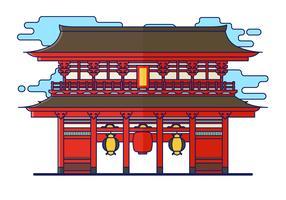 Illustration vectorielle de sanctuaire gratuit