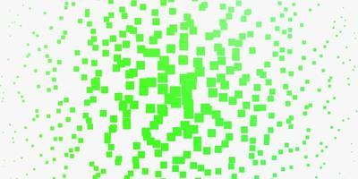 modèle vert clair avec des rectangles. vecteur