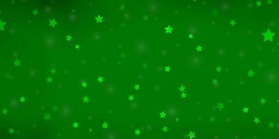 texture vert clair avec de belles étoiles.