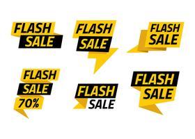 Flash Price Template vecteur libre