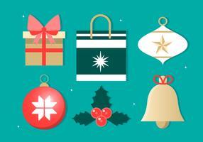 Éléments de vecteur de Noël gratuit