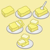 Collections de vecteur de tofu