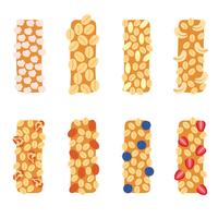 vecteur d'icône granola