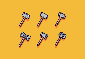 Vecteur de Sledgehammer gratuit