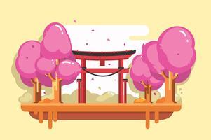 Vecteur de Shrine gratuit