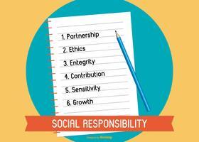 Illustration d'éthique commerciale