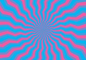Illusion d'hypnose psychédélique vecteur