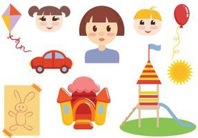 Vecteurs gratuits de l'enfance vecteur
