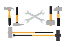 Vecteur gratuit sledgehammer