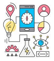 Illustration vectorielle de Business gratuit vecteur