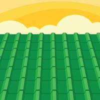 Fond de vecteur de tuile de toit