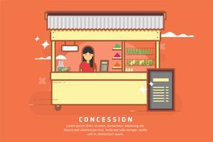 Illustration de la concession