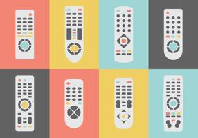 Collection télé à distance gratuite vecteur