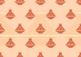 Tajine Maroc Seamless Pattern vecteur