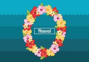 Vecteur de Lei hawaïen