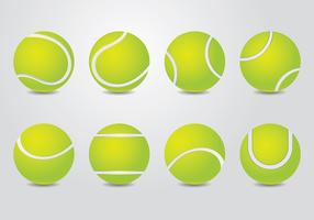 Vecteur de balle de tennis