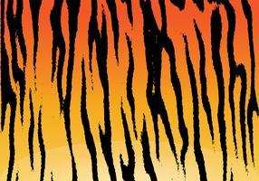 Vecteur de fond de rayures de tigre