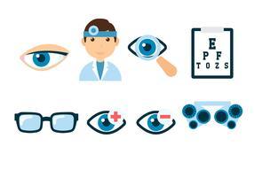 Vecteur de test d'oeil