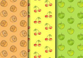 Modèles de fruits sans soudure gratuits