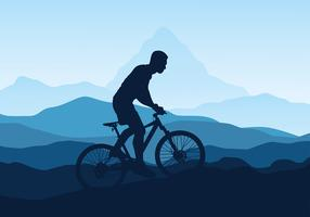 Bicicleta vecteur libre
