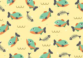 Piranha Pattern vecteur