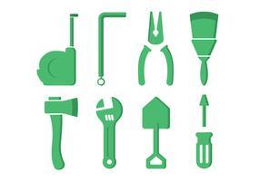 Icônes de l'outil matériel